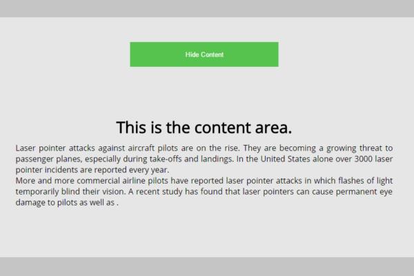 onClick event screenshort