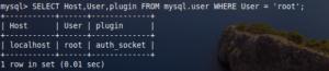 SQL User status